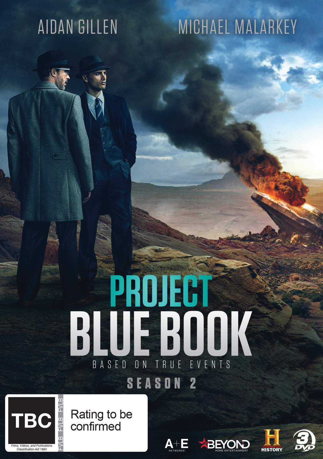 Project Blue Book: Season 2 on DVD image
