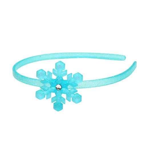Pink Poppy: Snow Princess Snowflake Headband