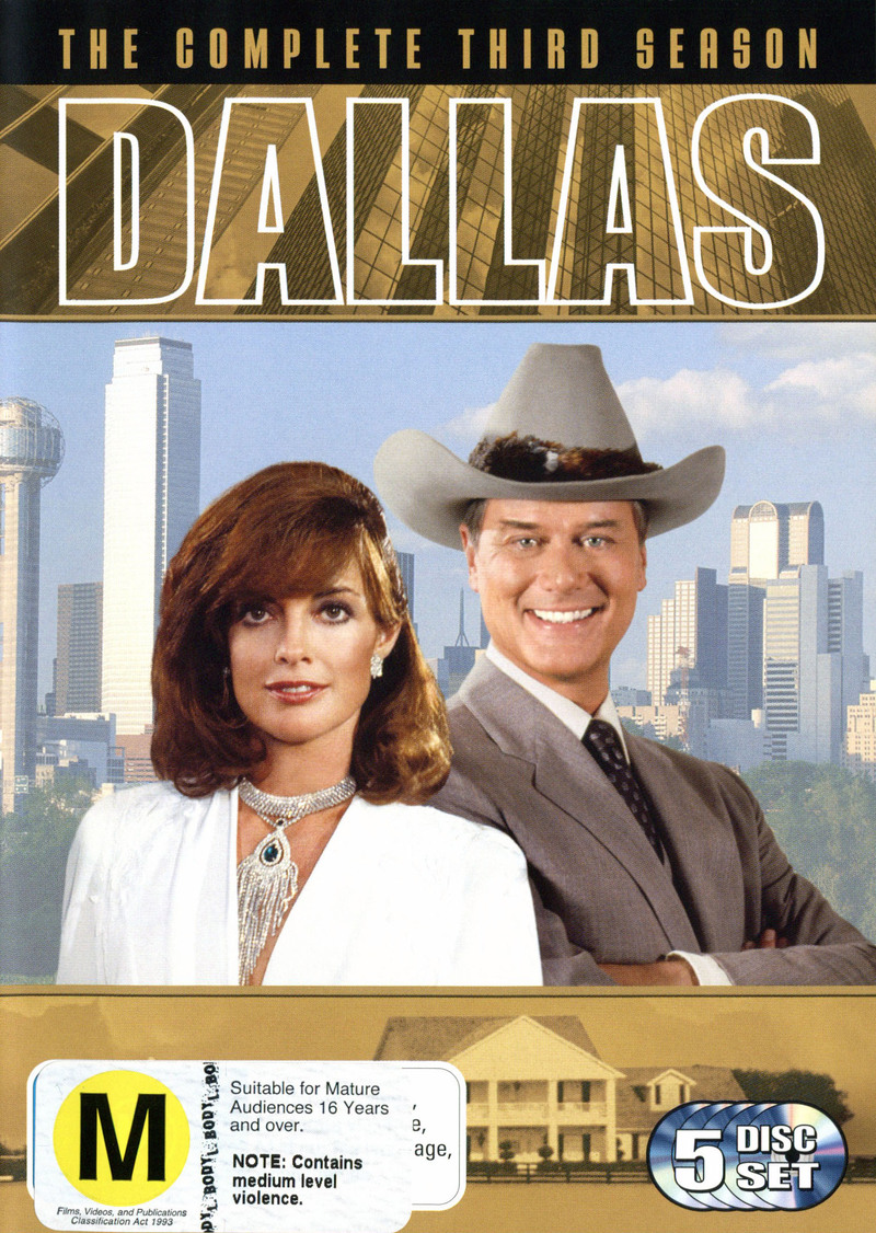 Dallas: The Complete Third Season  (5 Disc) on DVD image