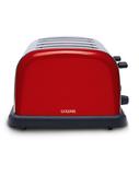 Goldair Domus 4 Slice Toaster - Red