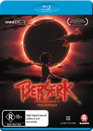 Berserk: The Golden Age Arc III - The Advent on Blu-ray