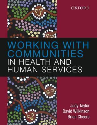 Working with Communities in Health and Human Services by Judy Taylor image