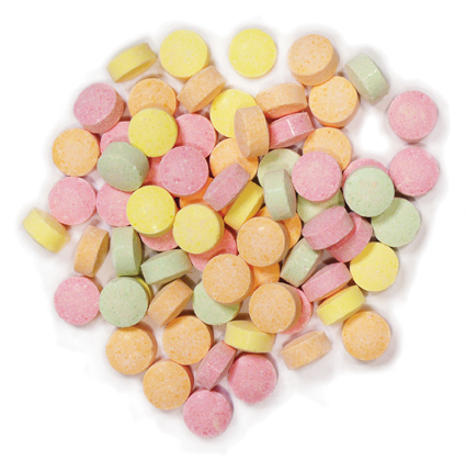 Fizzies Lollies 1kg - Rainbow Confectionery image