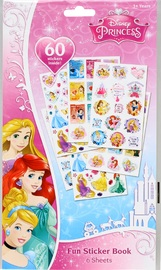 Disney Princess: 6 Page Sticker Book