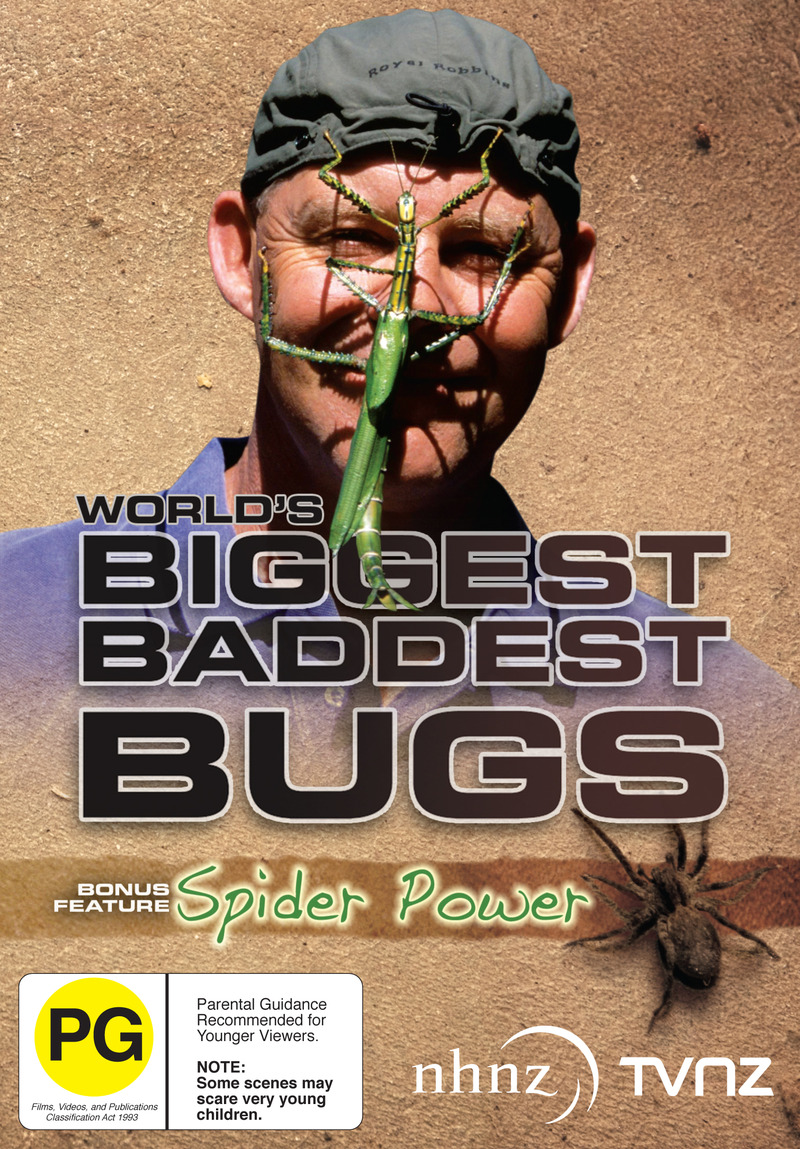 World's Biggest Baddest Bugs (Ruud Kleinpaste) Image at Mighty Ape NZ