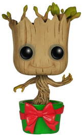 Guardians of the Galaxy Holiday Dancing Groot Pop! Vinyl Bobble Figure