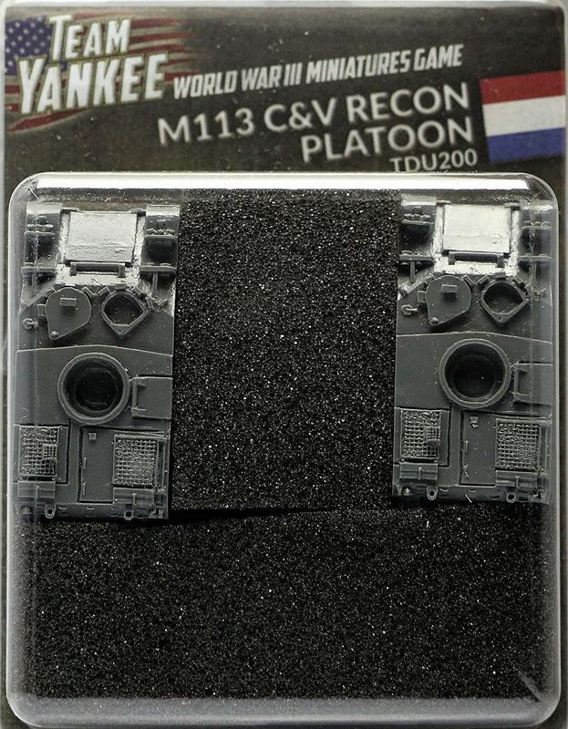 Team Yankee: Dutch M113 C&V Reconnaissance Platoon