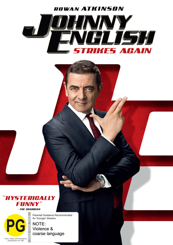 Johnny English Strikes Again Dvd In Stock Buy Now At Mighty Ape Nz