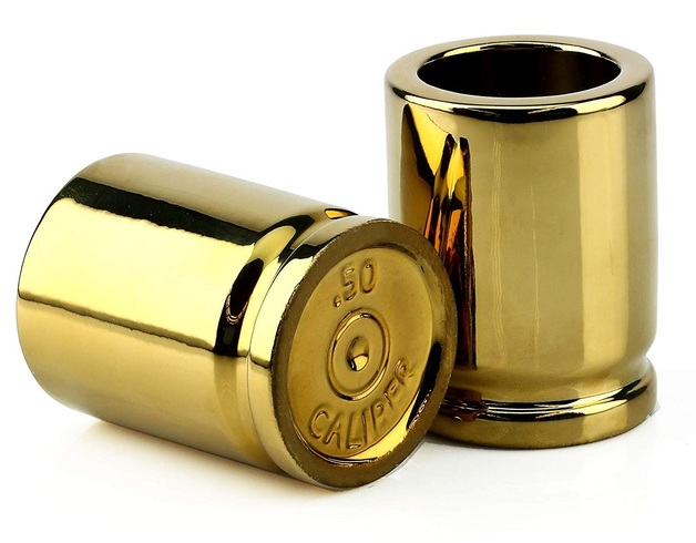 Barbuzzo: 50 Caliber - Shot Glasses (2-Pack)