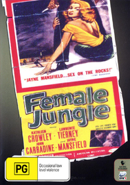Female Jungle on DVD