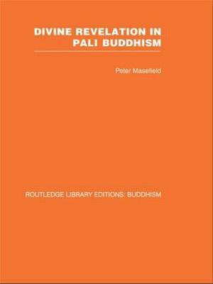 Divine Revelation in Pali Buddhism by Peter Masefield image