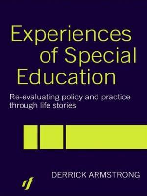Experiences of Special Education by Derrick Armstrong image