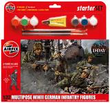 Airfix Kitset - Starter Set Medium - WWII German Infantry