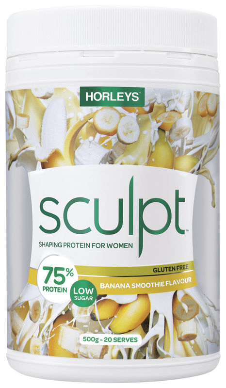 Horleys Sculpt Protein Powder - Banana Smoothie (500g)