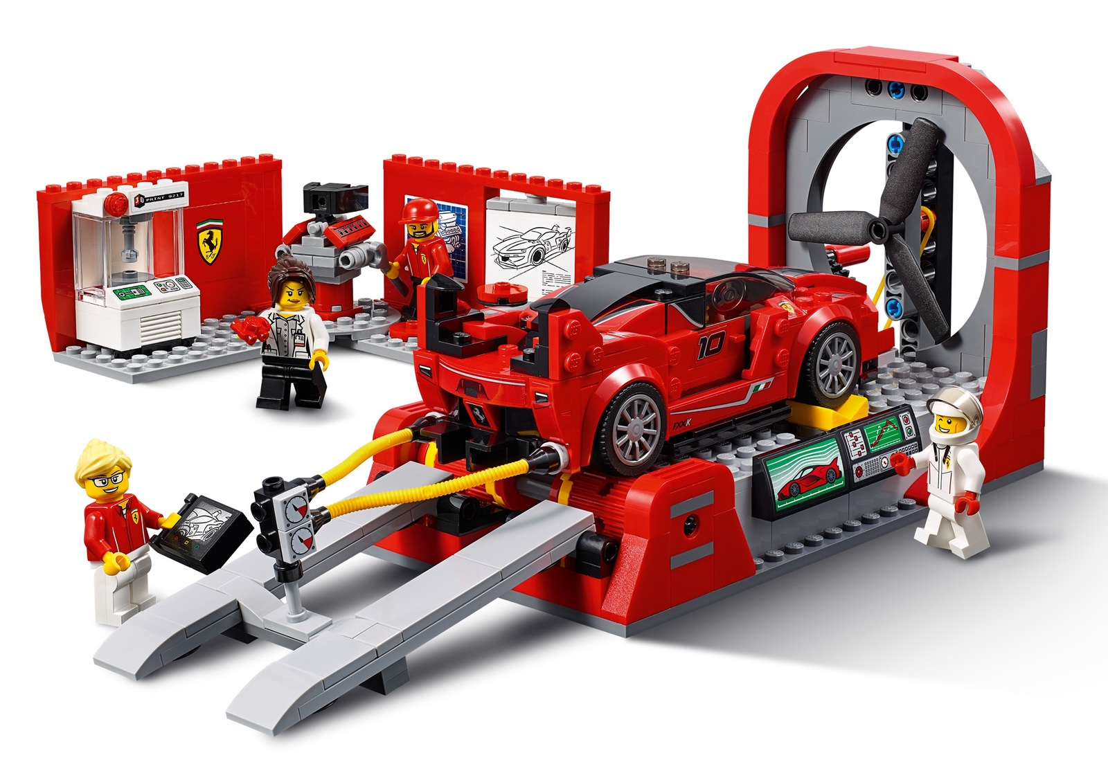 LEGO Speed Champions: Ferrari FXX K & Development Center (75882) image