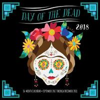 Day of the Dead 2018 Wall Calendar by Editors of Rock Point
