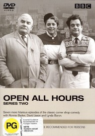 Open All Hours - Series 2 on DVD image