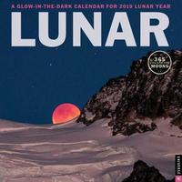 Lunar 2019 Wall Calendar by Universe Publishing