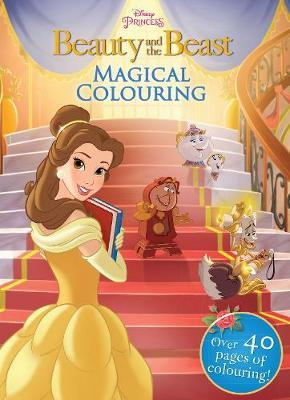 Disney Princess Beauty and the Beast Magical Colouring