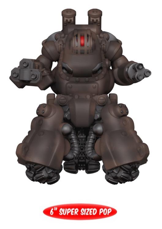 "Fallout - Sentry Bot 6"" Pop! Vinyl Figure image"