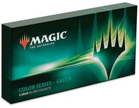 NZ Mint: Magic The Gathering - Silver Coin Note - Green Mana (5g Silver)