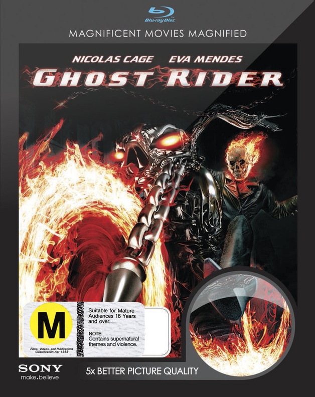 Ghost Rider on Blu-ray