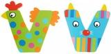 Tatiri Alphabet Letter Crazy Animal - V