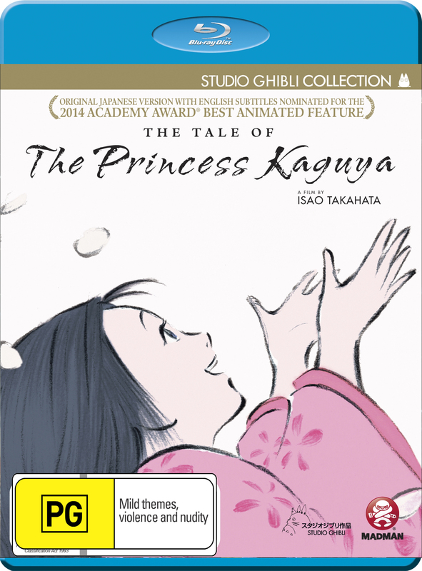 The Tale Of The Princess Kaguya on Blu-ray