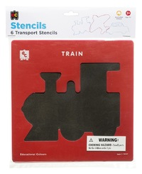 EC Colours - Transport Stencil Set - Pack of 6
