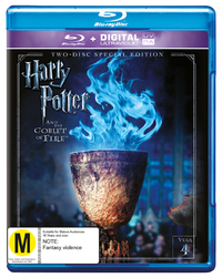 Harry Potter: Year 4 - The Goblet Of Fire (Special Edition) on Blu-ray