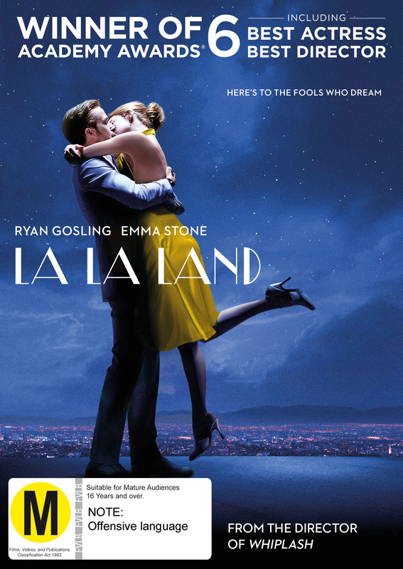 La La Land on DVD