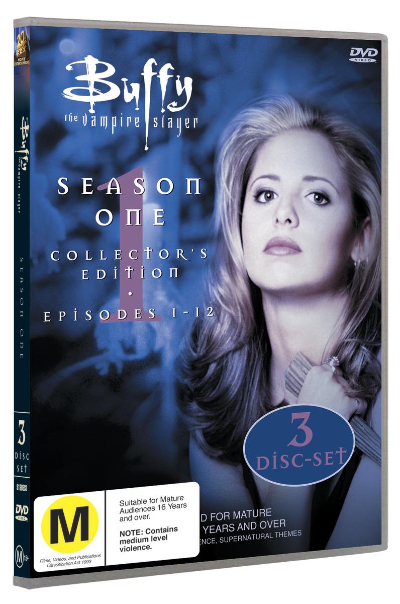 Buffy - The Vampire Slayer: Season One on DVD image