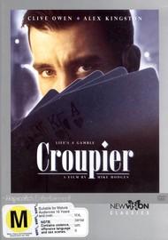 Croupier on DVD image