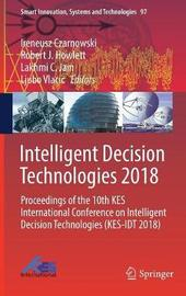 Intelligent Decision Technologies 2018 image