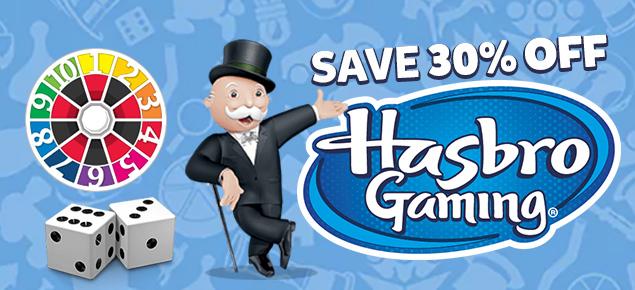30% off Hasbro Games!