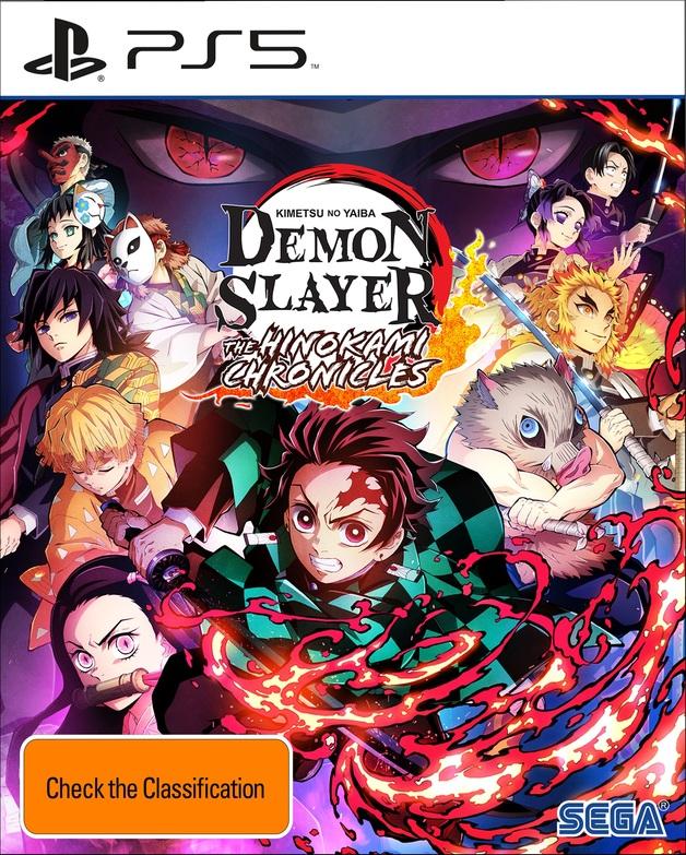 Demon Slayer - Kimetsu No Yaiba The Hinokami Chronicles for PS5
