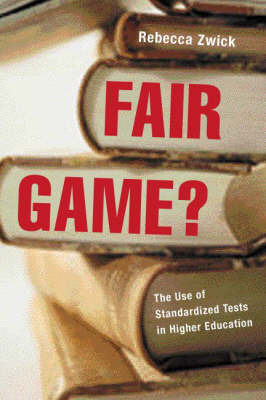 Fair Game? by Rebecca Zwick image