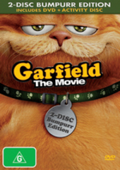 Garfield - The Movie: Bumper Edition (2 Disc Set) on DVD