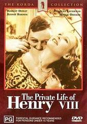 The Private Life of Henry VIII on DVD