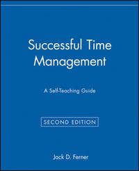 Successful Time Management by J.D. Ferner