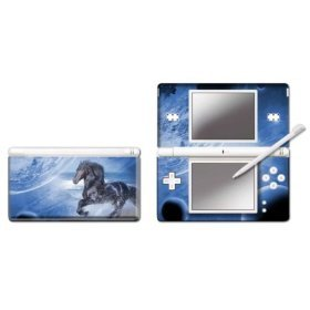 Nintendo DS Lite Modding Skin - Moon Horse for DS