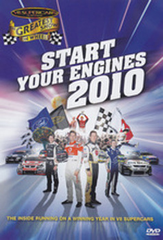 V8 Supercars 2010 - Pre Season Review (start your engines) on DVD