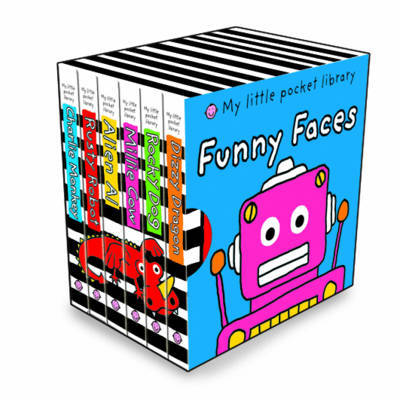 Funny Faces: My Little Pocket Library by Roger Priddy