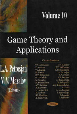 Game Theory & Applications, Volume 10 by L. A. Petrosjan