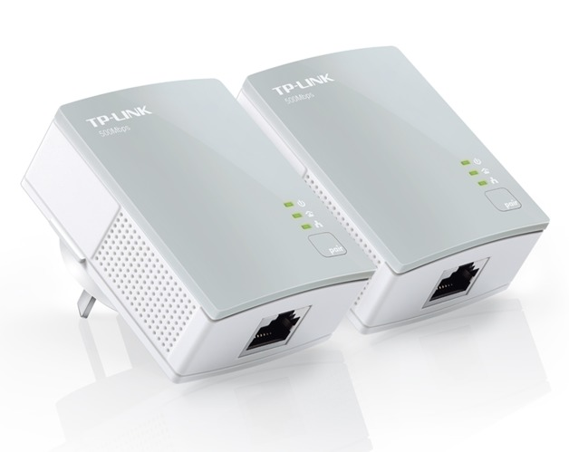 TP-Link 500Mbps AV600 Mini Powerline Ethernet Adapter Starter Kit