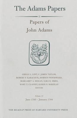 Papers of John Adams, Volume 15 by John Adams image