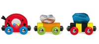 Hape: Lucky Ladybug and Friends Train image
