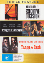 Executive Decision / Tequila Sunrise / Tango And Cash - Triple Feature (3 Disc Set) on DVD