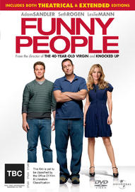 Funny People on DVD