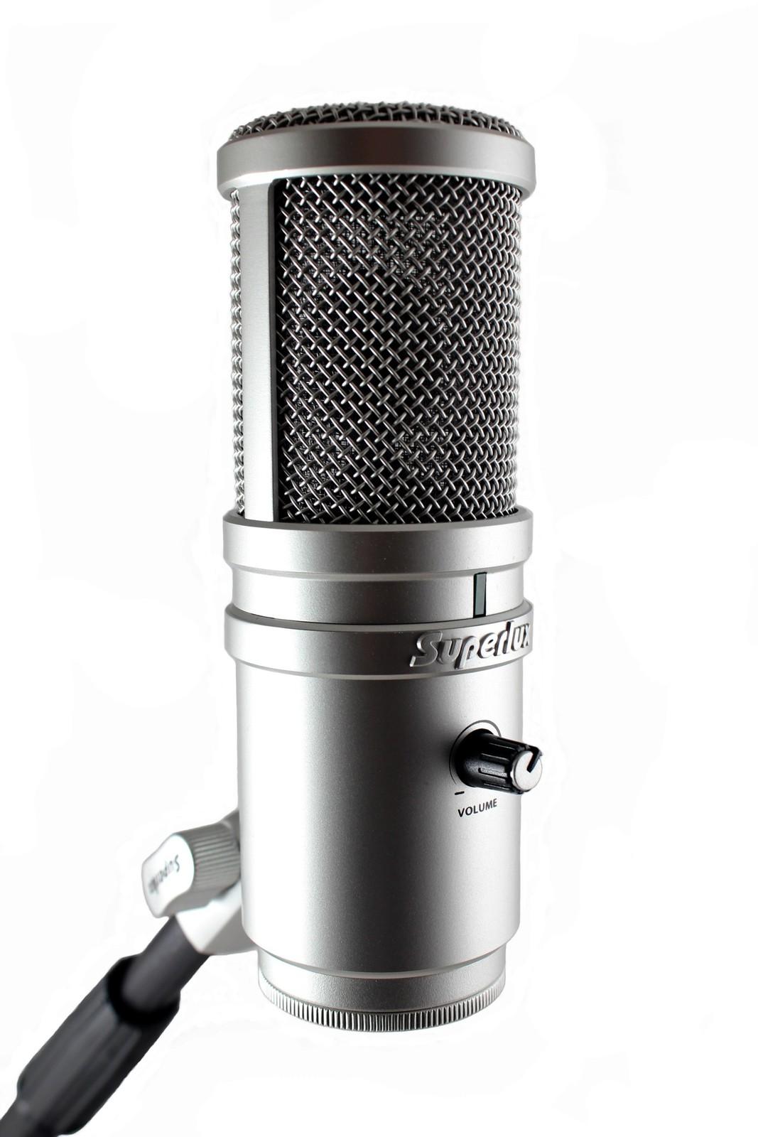 Superlux E205U USB microphone image
